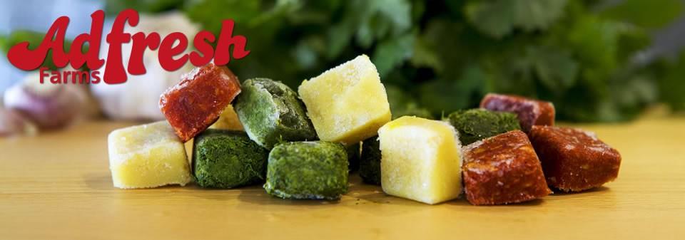 frozen fresh herbs
